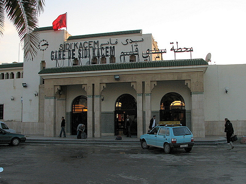 Train-Station-Sidi-Kacem