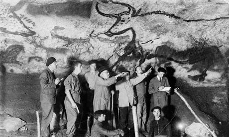 The auroch in Lascaux Cave