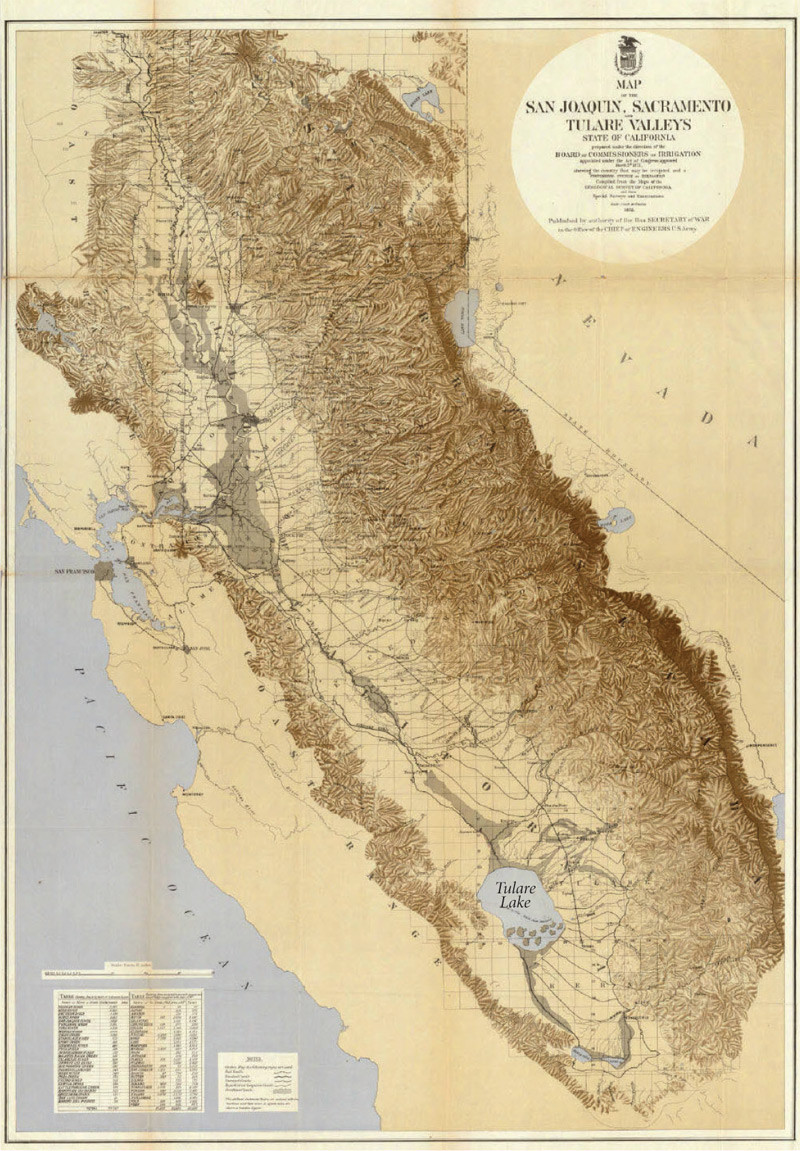 The California Central Valley