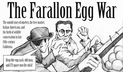 Eve Chrysanthe Garibaldi and the Farallon Egg War