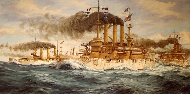 The Great White Fleet by John Charles Roach