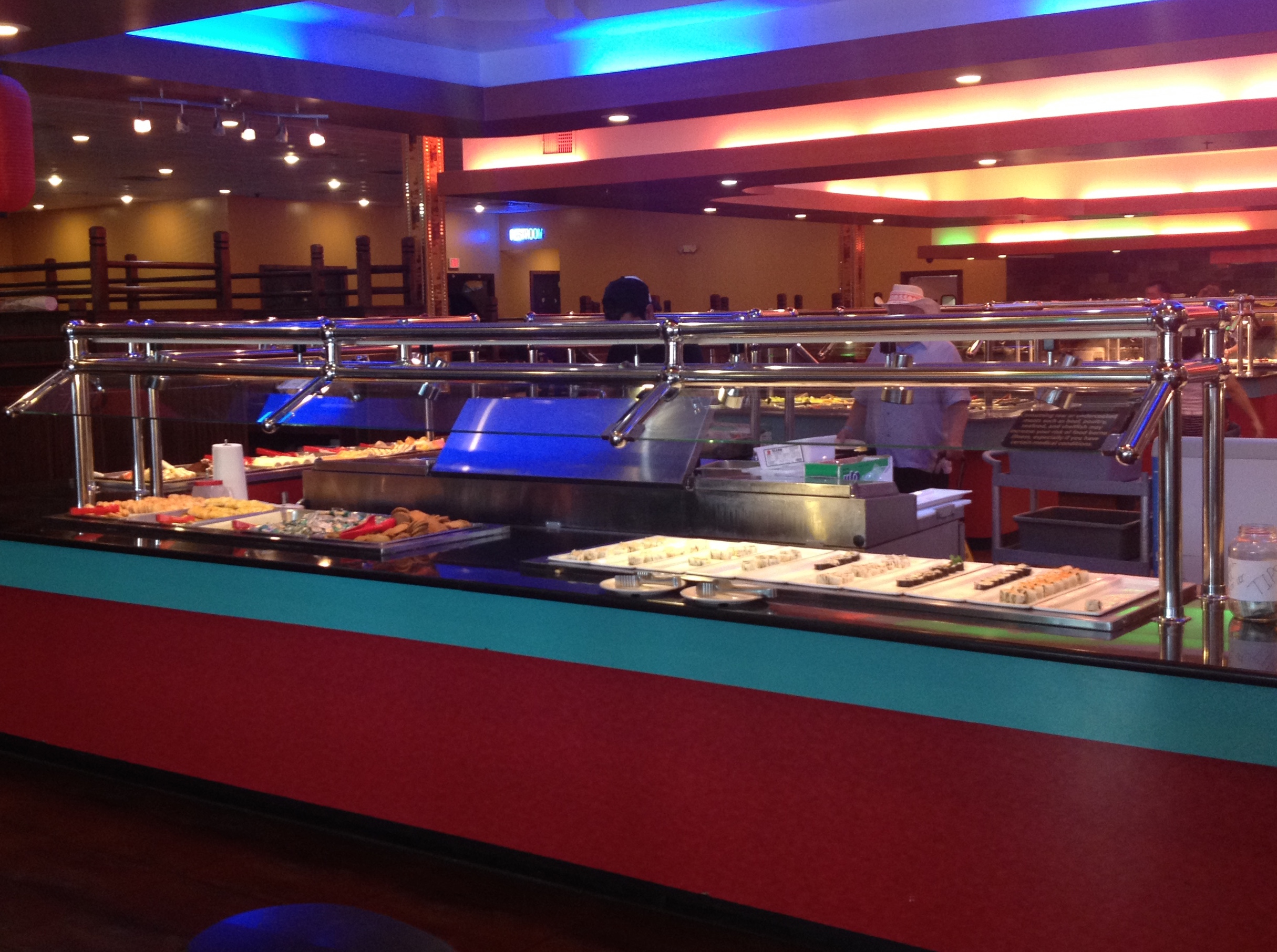 The Hibachi Grand Buffet