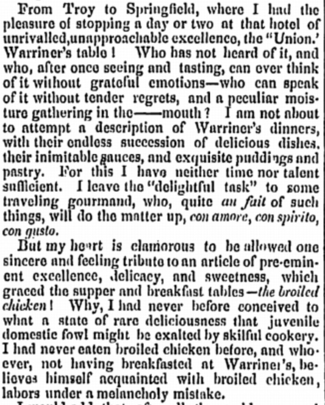 Springfield Republican, September 10th 1849