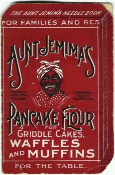 Early Aunt Jemima Waffle Ad