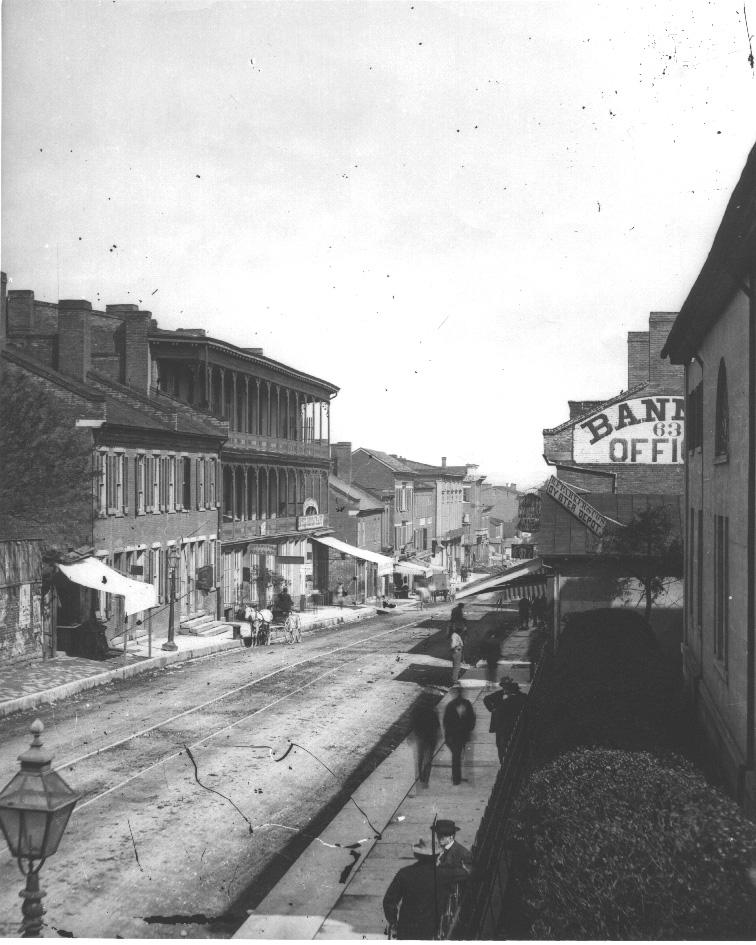 The Colonnade Building, Nashville, circa 1880