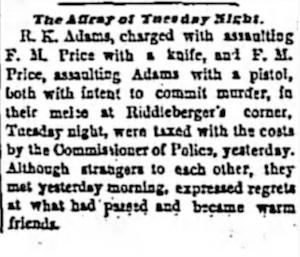 Fight-at-Riddlebergers-Corner-17-Jun-1869