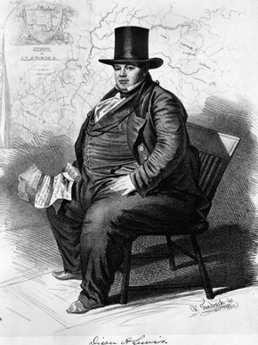 Dixon Hall Lewis, Senator from Alabama