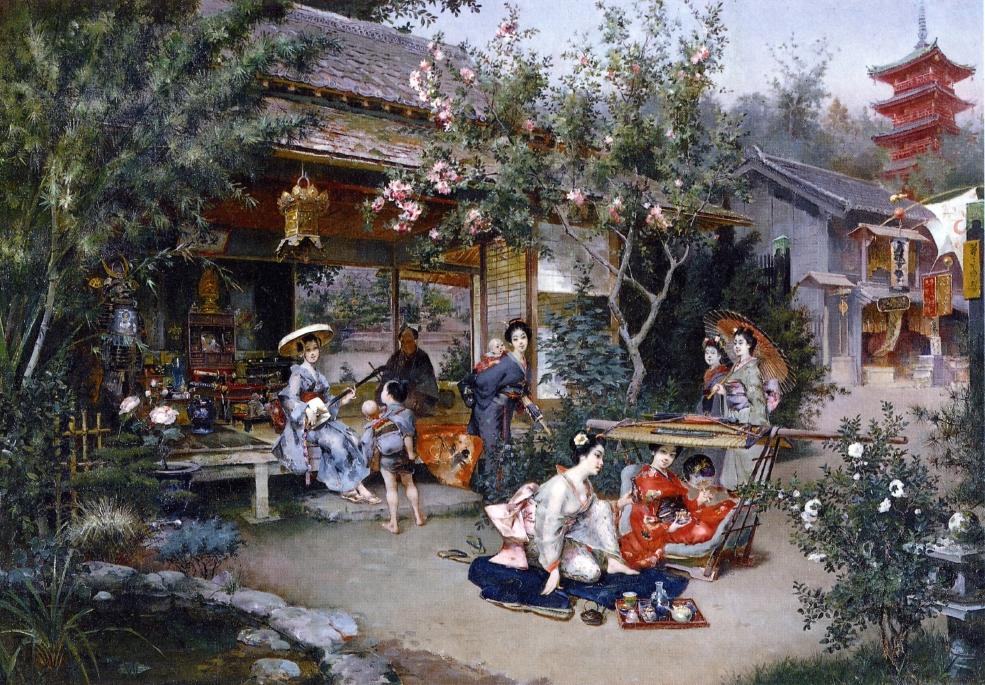 Harry Humphrey Moore's Glimpse into the Pleasure Quarters Yoshiwara
