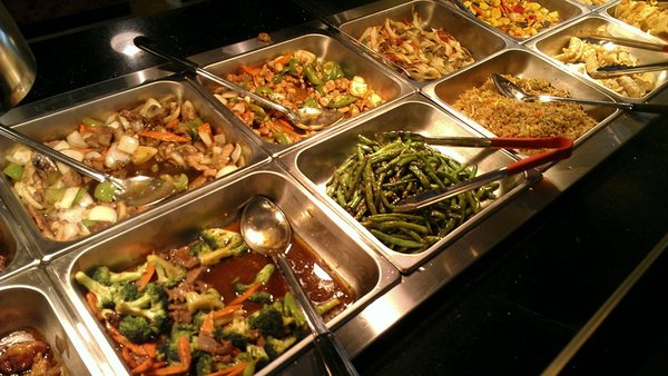 Asian grand buffet