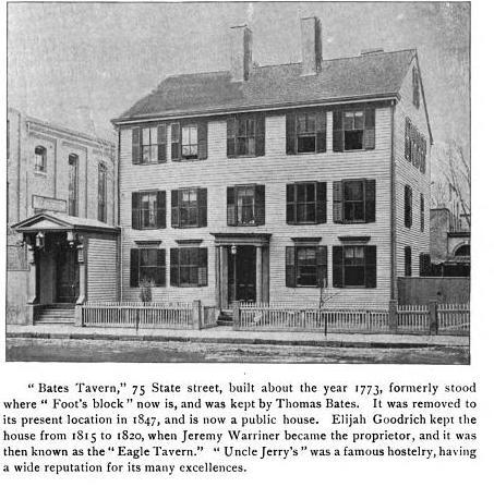 Warriners Tavern Springfield Mass