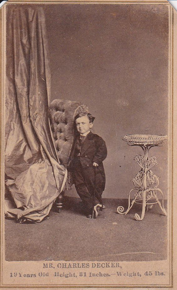 Charles Decker Carte de Viste