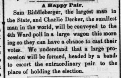 Election Day in Nashville. August 5, 1869