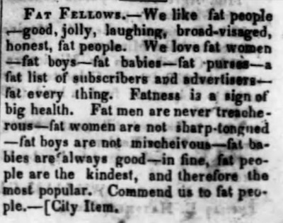 Palmyra (Missouri) Whig, September 20, 1849.